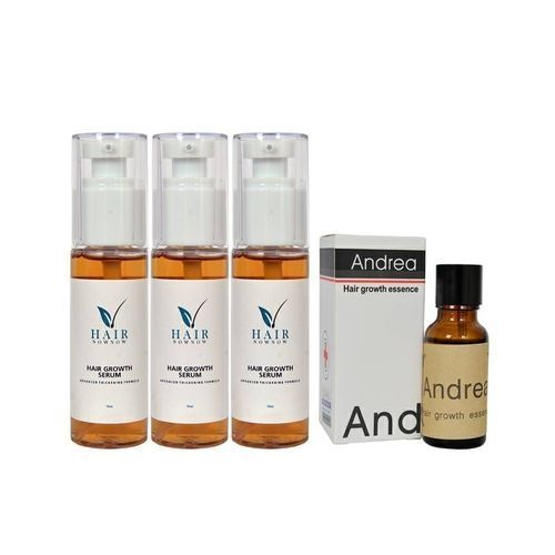 Growth Serum (3 Packs) + Free Gift (Andrea Oil)