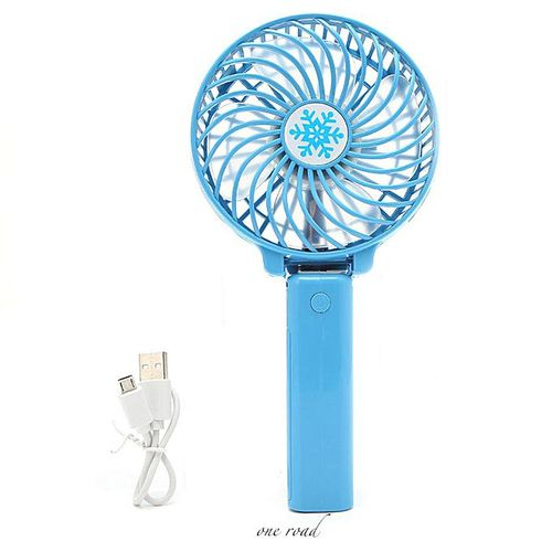 Mini Fan Usb Power Supply Rechargeable Battery Operated Hand Fan