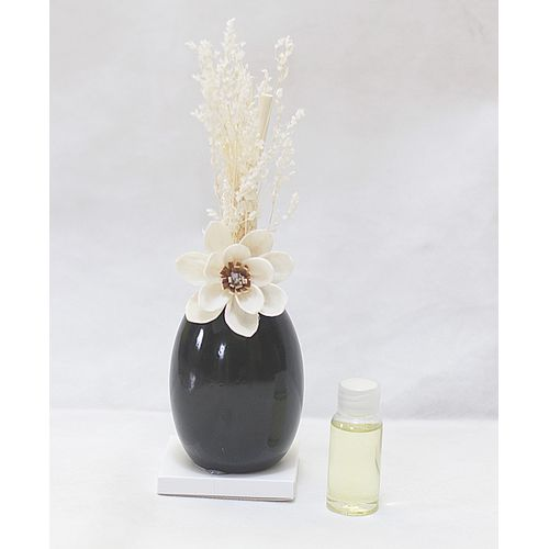 Flower Reed Diffuser - Black