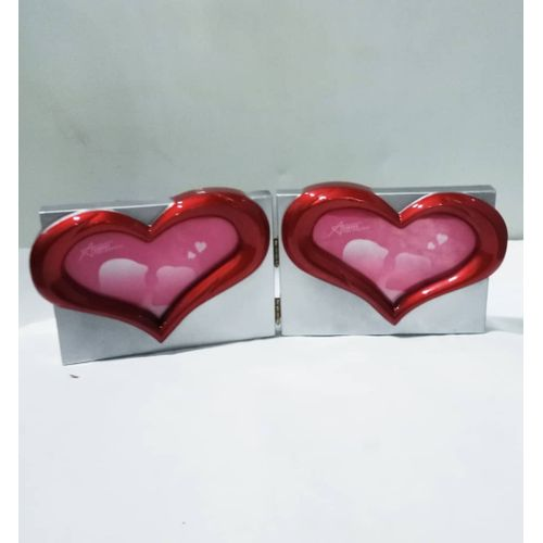 2 Love Shape Table Picture Frame