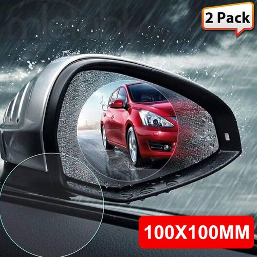 Waterproof Film Rain-Proof Sticker Safety Rearview Mirror Rain And Fog 2pcs Universal Automotive Antifog Outdoors