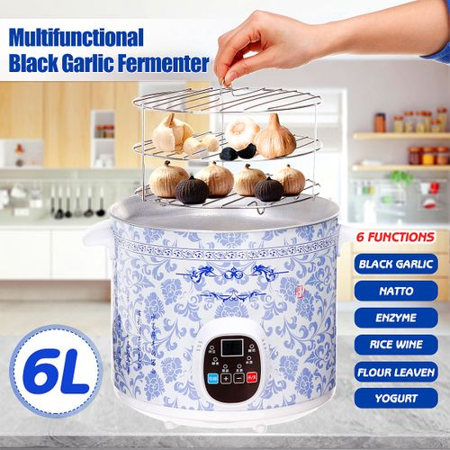 6L 70W Multifunctional Automatic Black Garlic Fermenter Ferment Maker Clove Box