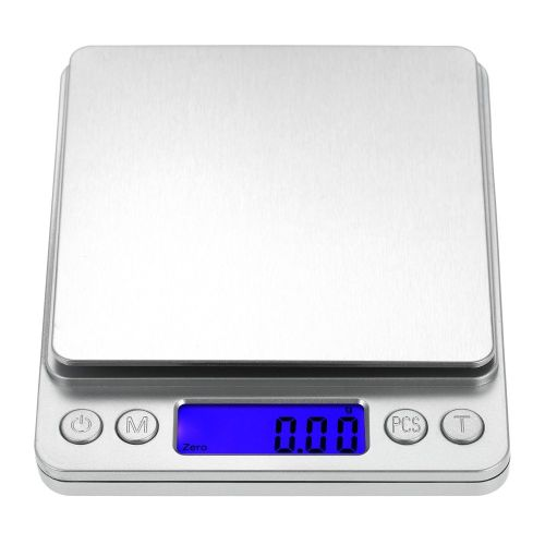 Accurate Kitchen Scale High-precision Jewelry Scale Mini Food Scale Electric Kitchen Scale With Two Trays Kitchen Baking Scale Pocket Scale