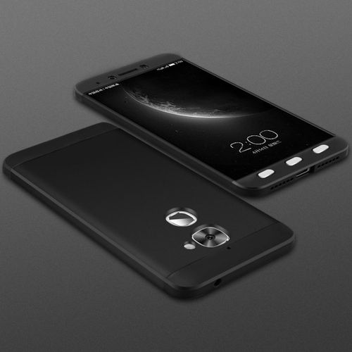 Letv Le 2 Case , Ultra Thin 3 In 1 Full Protection Metallic Luster Hard Plastic Combination Shockproof Case For Letv Le 2 X620 Black