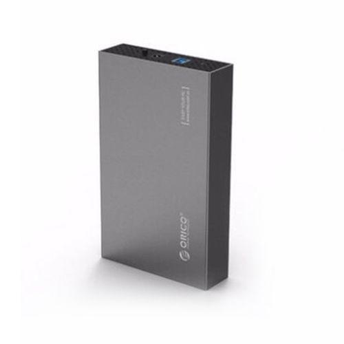 ORICO 3518S3-SV Aluminum SATA 3.0 To USB3.0 3.5 Inch SSD / Sata HDD Enclosure