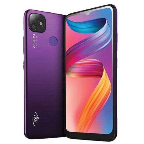"P36 PRO LTE 6.5"" HD+, 2GB RAM + 32GB ROM, 5000mAh, 13MP AI Dual Camera, Android 9, 4G LTE, Fingerprint + Face ID -Purple"