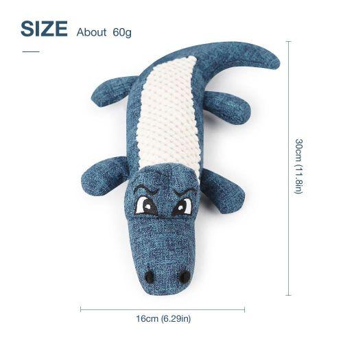 Squeek Toys,Cute Crocodile Squawking Dog Chew Toy