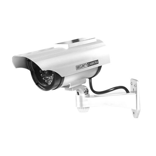 OR YZ-3302 Solar Powered CCTV Security Surveillance Waterproof Anti-theft Camera-Silver