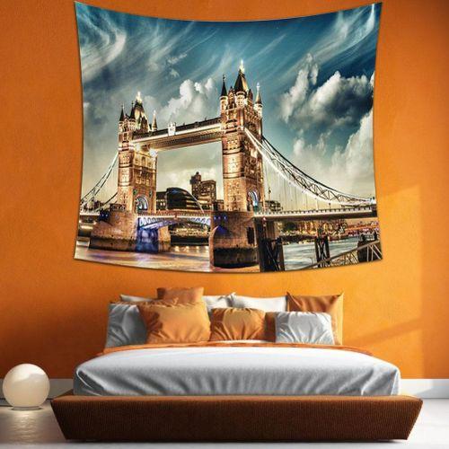 City And Landscape Design Tapestry Urban Landscape Bedroom Decoration Bedroom Living Room Toilet No Fading Antiallergic