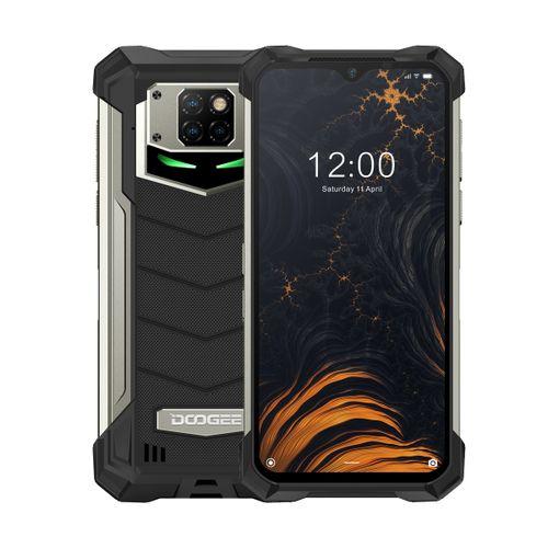 S88 Plus Rugged Phone 8GB+128GB 10000mAh 6.3 Inch Android 10.0 4G Smartphone - Black