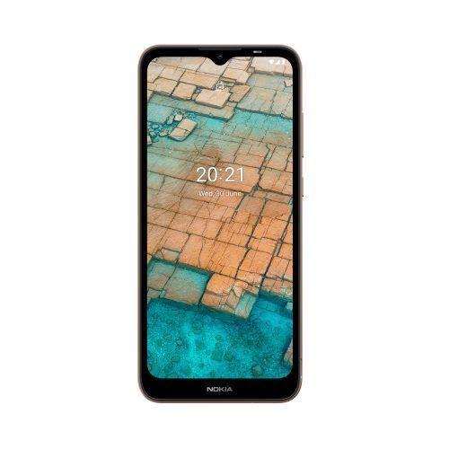 """C20 (TA-1352) 6.5"""" HD+ Display, 2GB RAM + 16GB ROM, 3000mAh, Android 11, 5MP + 5MP Camera, 4G LTE, Face ID - Dark Blue"""