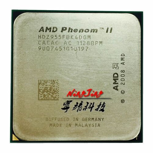AMD Phenom II X4 955 955 3.2 GHz Quad-Core CPU Processor 125W HDZ955FBK4DGM Socket AM3