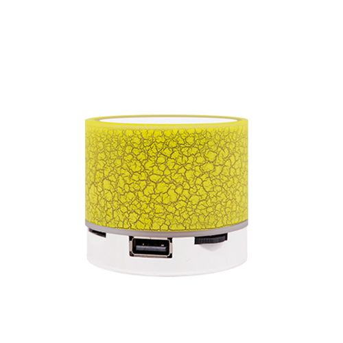 Portable Mini BT Speakers TF Card USB 2.0 Rechargeable LED