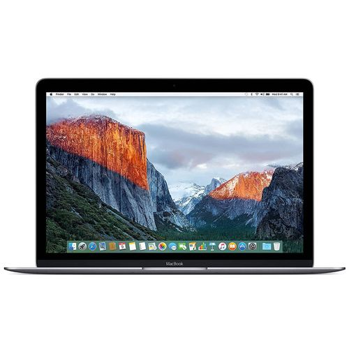 Macbook 12-Inch Laptop With Retina Display (Space Gray, 512 GB) 1.2GHZ 8GB