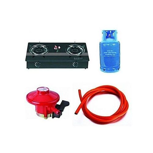 Quality 12.5kg Gas Cylinder Double Hand With Universal Cooker ,Regulator, Hose