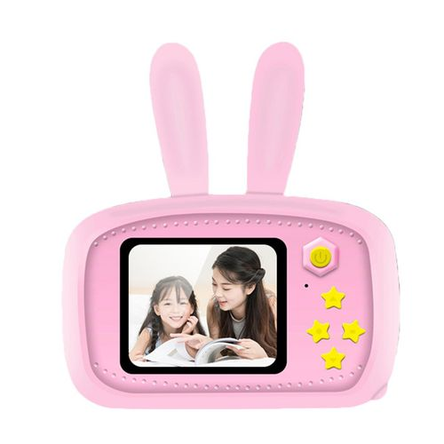 K9 Bunny Child Camera Photo Recording Multi-Function Children'S-pink-