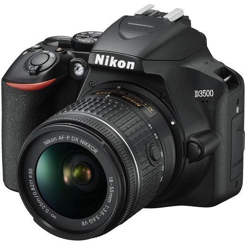 D3500 DSLR Camera With 18-55mm Lens - Black