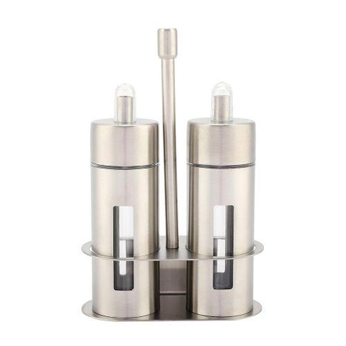 Kitchen Supplies Stainless Steel Leakproof Pot Bottle Soy Sauce Vinegar Seasoning Jar