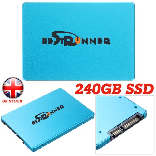 "240GB Bestrunner SSD 2.5"" Solid State Hard Drive For Laptop Lot"