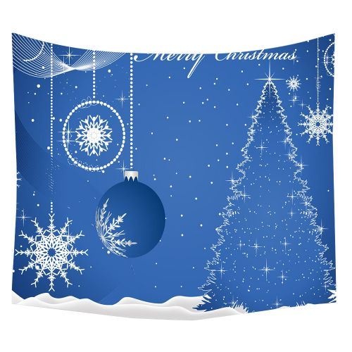 Generic Merry Christmas Beach Cover Up Tunic Tapestry Tablecloth Home Decor 150*120