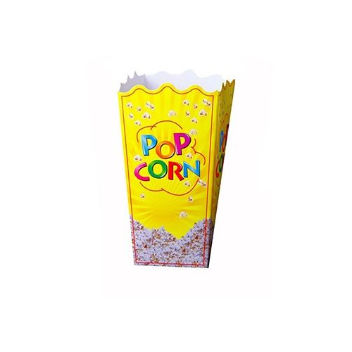 100 Open-Top Paper Popcorn Box And Bag