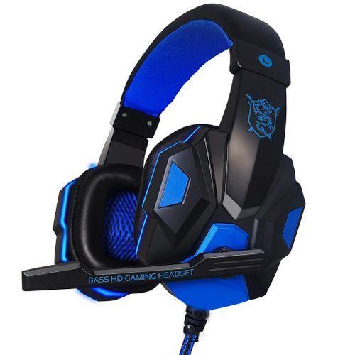 Wired Computer Stereo Gaming Headphones Earphones Headset