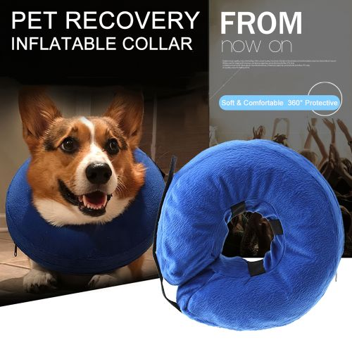 Pet Dog Recovery Collar Protective Inflatable Collar