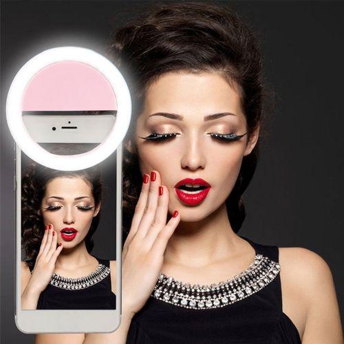 Portable Selfie LED Camera Ring Flash Fill Light
