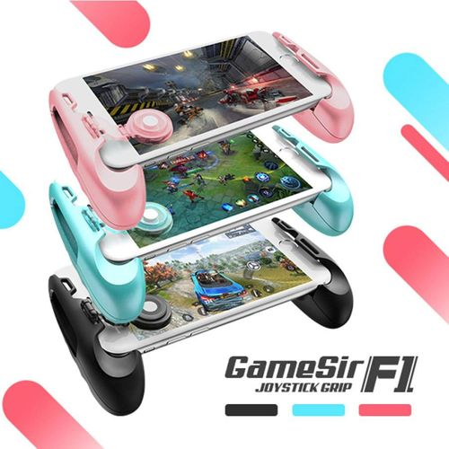 GameSir F1 MOBA Controller For Android & IPhone (Mobile Legends, Vainglory, Etc) Gamepad Grip Extended Handle JY-M