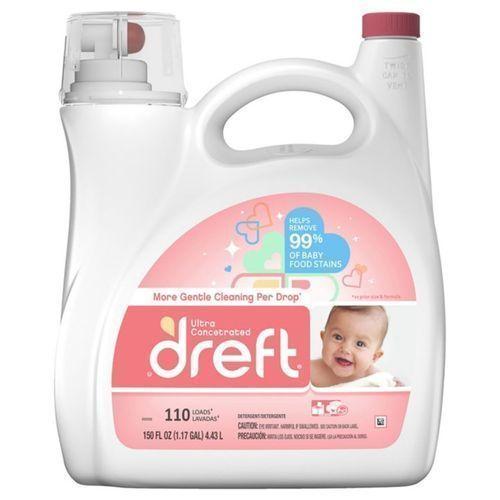 Liquid Laundry Detergent (110 Loads, 150 Fl Oz)