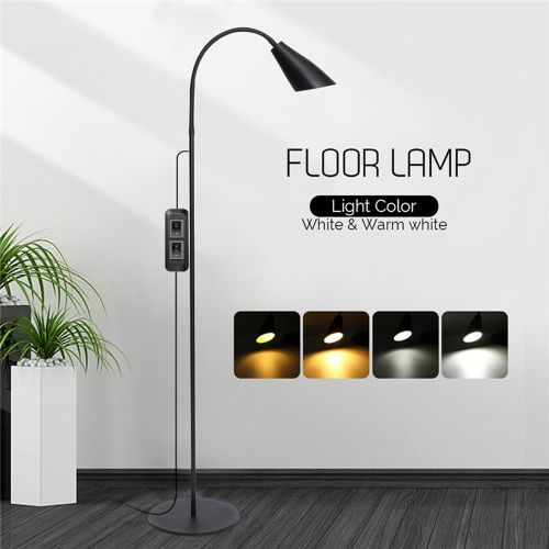 Adjustable LED Floor Lamp Standing Reading Home Office Dimmable Desk Table Light