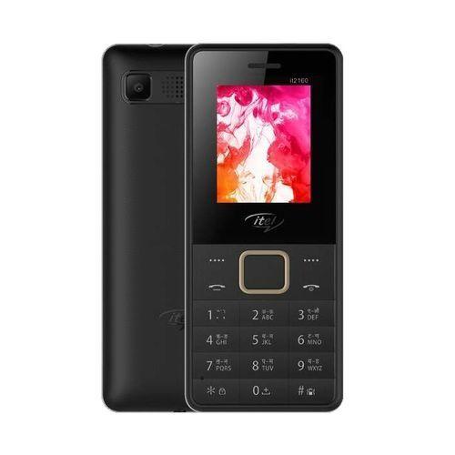 2160 Wireless FM, Bright Torchlight, Call Recorder, Dual SIM Mobile - Black