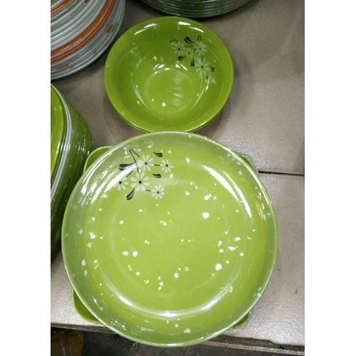 6set Unbreakable Soup Bowl And Flat Plate Quality