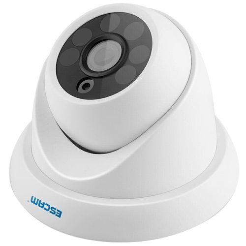 QH001 Onvif H.265 1080P P2P IR Dome IP Camera Motion Detection With Smart Analysis Function EU - White