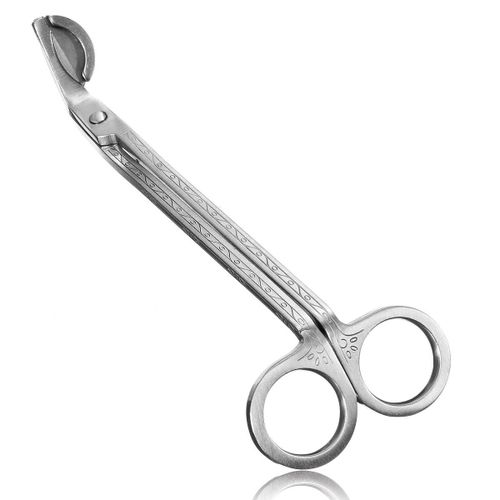 Stainless Steel Candle Trim Trimmer Scissors Cutter Wick Oil Lamps Snuffers Tool