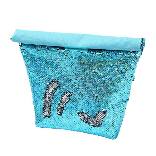 Multi-Function Fashion Sequin Lunch Bag Reusable Portable Lunch Bag Cooler Bag