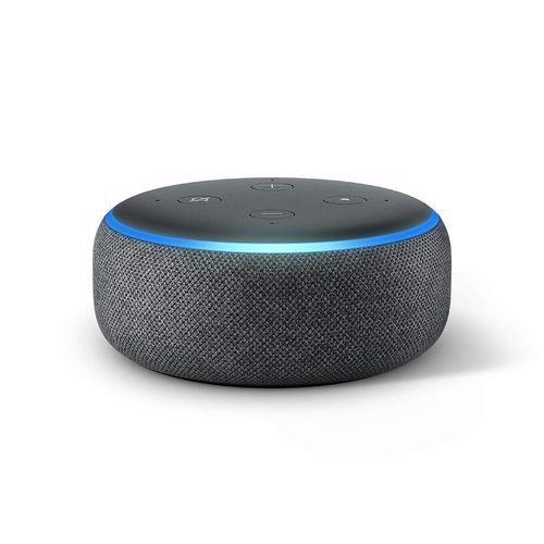 Echo Dot (3rd Gen) - WiFi - Bluetooth Speaker - Charcoal