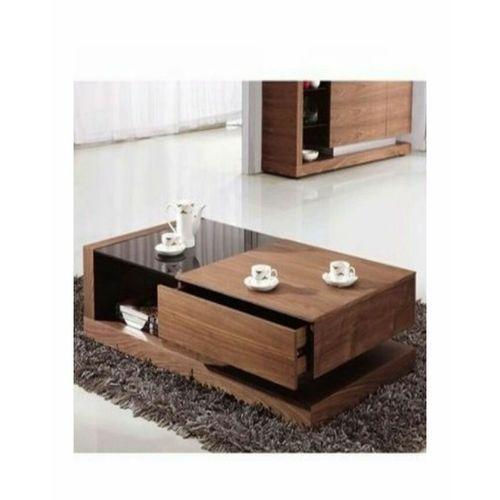 Autentify Modern Coffee Center Table -Brown(Lagos Ogun Ibadan Only)