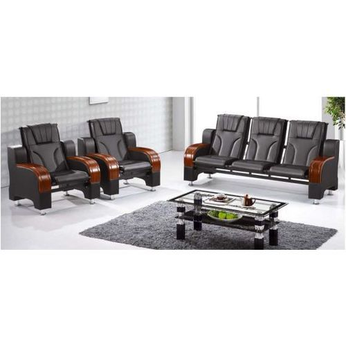 5 Seater Modern Leather Sofa Chair