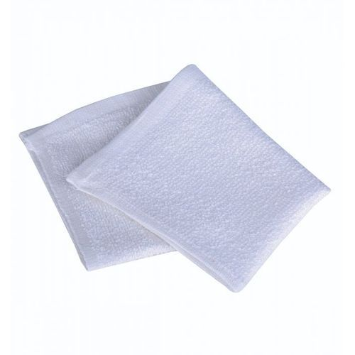 Pure Cotton Packed White Face Towel