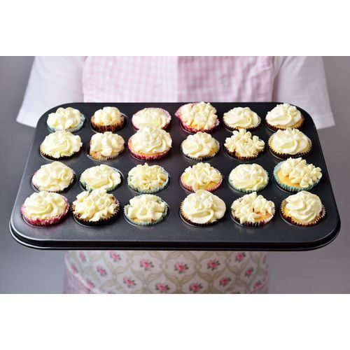 24 Moulds Cup Cakes / Muffin Baking Pan