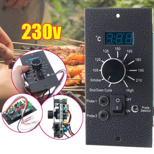 Iron Digital Thermostat Upgrade Controller Board Replacement For Pellet AU