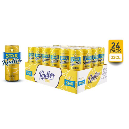Radler Beer - 33cl Can X 24
