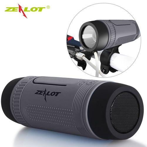 Zealot S1 Portable IP55 Flashlight Bluetooth Speaker