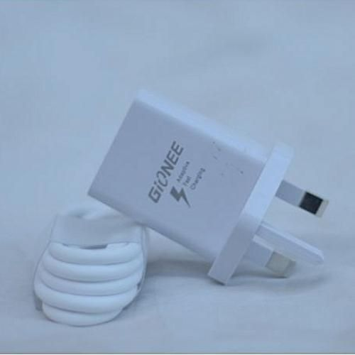 Gionee Fast Charger + FREE Earpiece And USB Cable- White