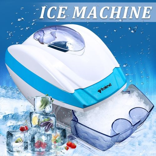 Electric Ice Crusher Shaver Machine Snow Cone Maker Smoothies Summer Ice Drinks