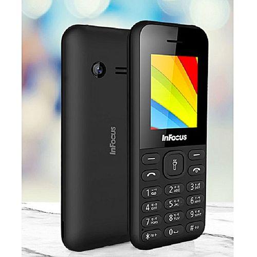 Vibe 1 Dual SIM FM Radio, Torch Light, Camera Phone - Black