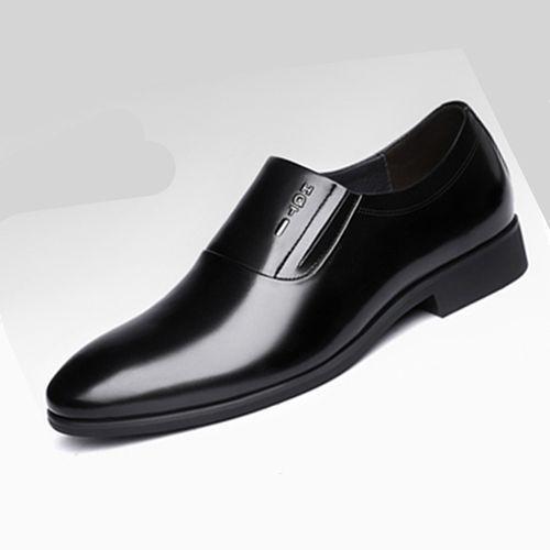 Men's Business Dress Casual Shoes - Black