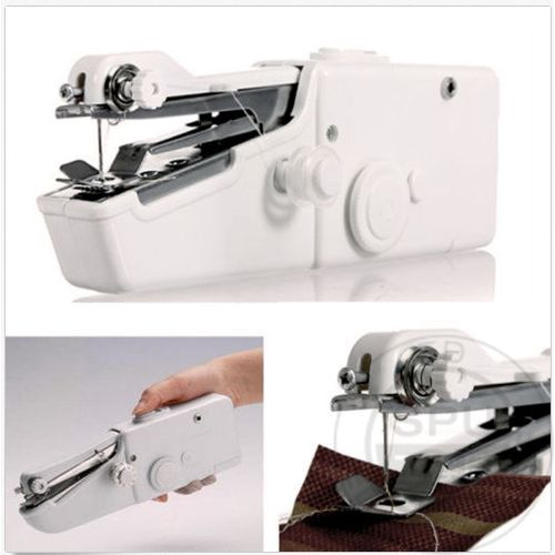 Mini Portable Electric Tailor Stitch Hand-held Sewing Machine Without Battery Sew Needlework Cordless Clothes Sewing Tools