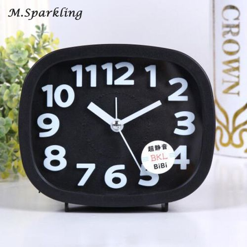 M.Sparkling Alarm Clock Creative Alarm Clock Candy Color